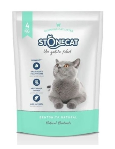 Piedras Sanitarias Aglomerantes Stonecat 20kg (5x4kg)