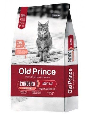 Old Prince Gatos -Cordero y Arroz 7.5kg