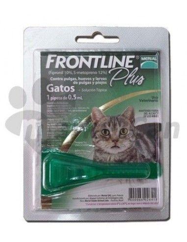 Pipeta Frontline Plus Gatos