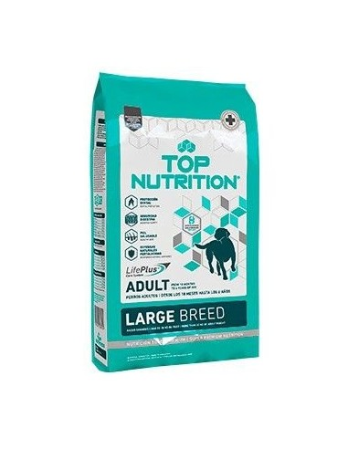 Top Nutrition Perro Grande Adulto 15 + 3KG Gratis
