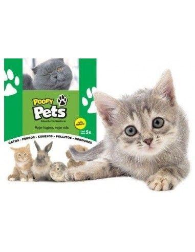 Sanitario Ecologico Poopy Pets 5kg